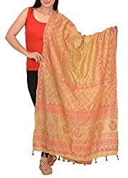 Skirts N Scarves Women's Tussar Dupatta / Stole