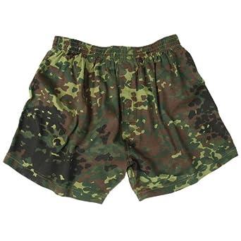 Mil-Tec Boxer Shorts Flecktarn size S