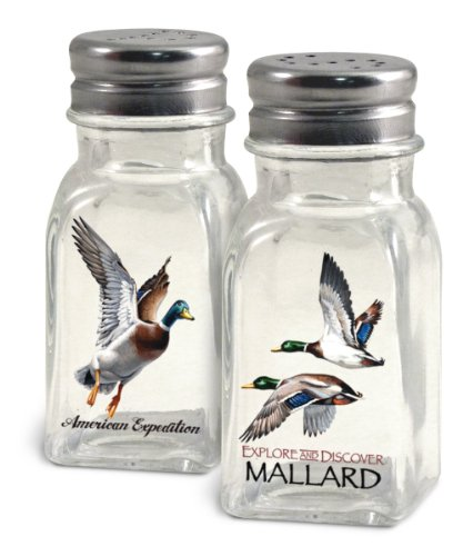 American Expedition Mallard Salt and Pepper Shakers (Wildlife Salt And Pepper Shakers compare prices)