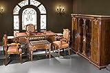 Barocco sedia in stile antico, copia tavolo tavolino da caffè ufficio congelatore Mob t0938b
