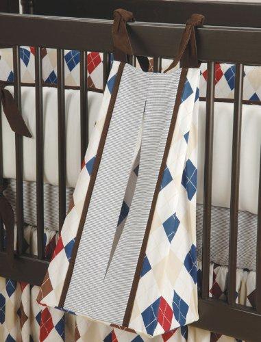 Ivy League Blue Diaper Stacker