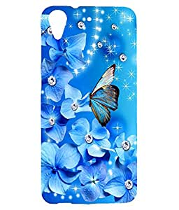 Mintzz Printed Back Cover For HTC Desire 626