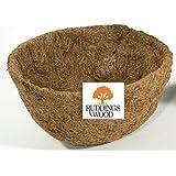 """Co-co Liner / Hanging Basket Liner Fits 12"""" - 30cm Diameter Hanging Basket"""