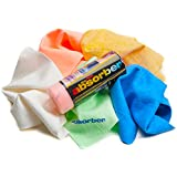 CleanTools 12951 The Mini Absorber Synthetic Drying Towel Chamois, 17-Inch x 13-Inch, Color may vary