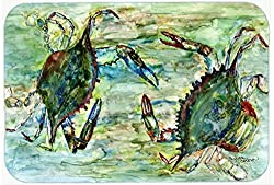 Carolines Treasures 8940CMT Crab Standoff Kitchen or Bath Mat, 20 by 30 , Multicolor