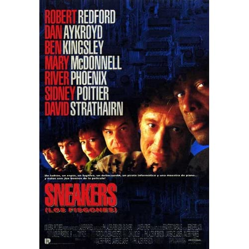 Amazon.com - Sneakers (1992) 27 x 40 Movie Poster Spanish Style A