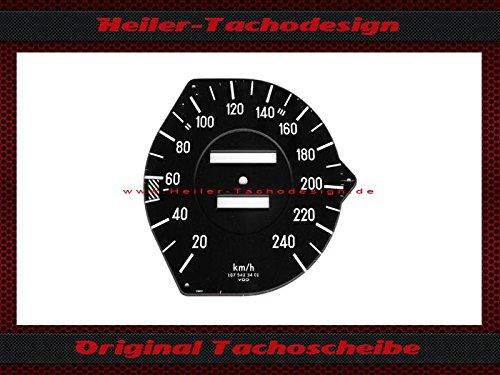 Tachoscheibe Mercedes SL W107 R107 240 Kmh Mechanischer-Tacho