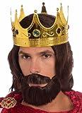 Royal King Wig/Beard/Moustache Costume Accessory