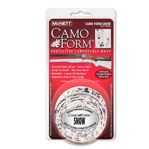 Mcnett Camo Form Protective Camouflage Wrap, Snow