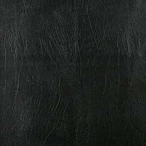 , Black, Solid Outdoor Indoor Marine Vinyl Fabric: Furniture & Decor