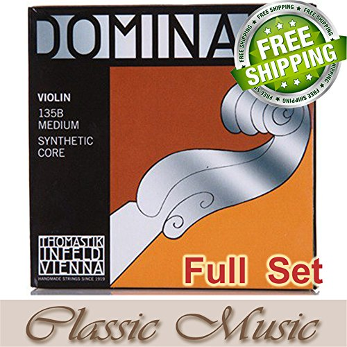 Classic Music Thomastik Dominant 135B Violin Strings Full Set 4/4 Ball End (Full Violins compare prices)