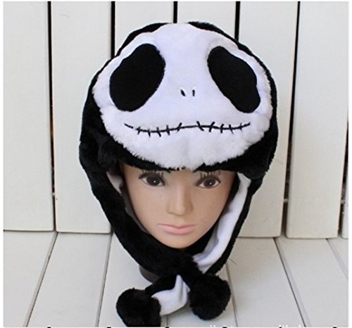 Jack Skellington KIDS Plush Hat cartoon winter hat **Ships from USA**