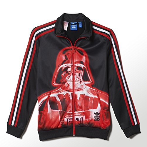 adidas Originals Boys Star Wars Darth Vader Firebird Track Top