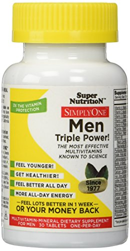 SuperNutrition Simply One Men 30 Tab (Super Nutrition Simply One compare prices)
