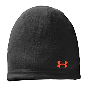 Men's UA Blustery Beanie Headwear by Under Armour One Size Fits All Black