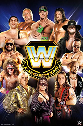 WWE Legends - Group 14 Stampa Artistica Poster (55,88 x 86,36 cm)