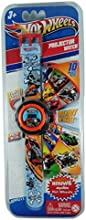 Hot Wheel Children Boys Digital LCD Watch with 10 Image Projector Toy Attachment