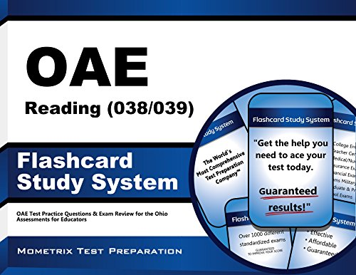 OAE Reading (038/039) Flashcard Study System: OAE Test Practice Questions & Exam Review for the Ohio Assessments for Educators (Cards)