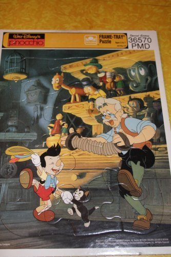 Walt Disney's Pinocchio Frame-Tray Puzzle (Special Edition 36570-PMD) - 1