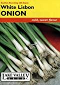Lake Valley 209 Onion White Lisbon Bunching Heirloom Seed Packet