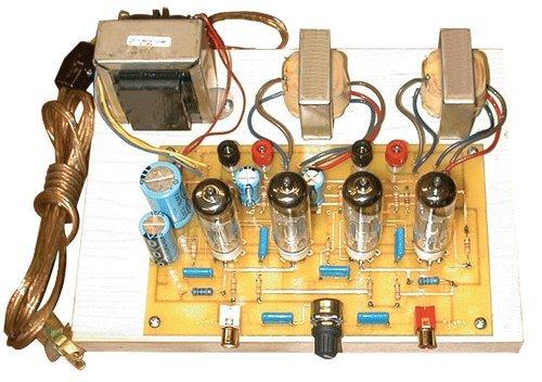 Stereo Integrated Tube Amplifier DIY Kit