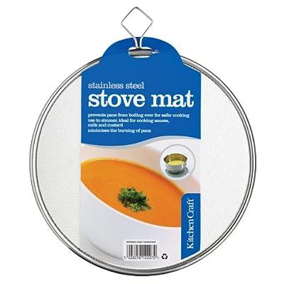 Kitchen Craft Heat Diffuser Mat Stainless Steel 19cm by Kitchen Craft