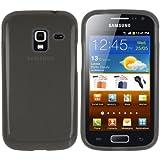 mumbi TPU Silikon Schutzh�lle f�r Samsung Galaxy Ace 2 I8160 H�lle transparent schwarz