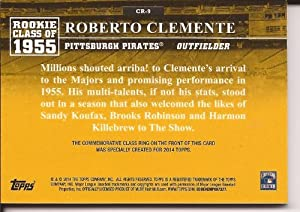 2014 Topps Baseball Rookie Class of 1955 Roberto Clemente -Hot Hot!!! by Topps