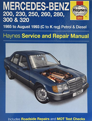Mercedes benz e class petrol workshop manual w124 for Mercedes benz w124 230e workshop manual