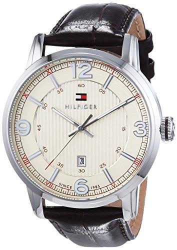 Tommy Hilfiger Watches Herren-Armbanduhr XL GEORGE Analog Quarz Leder 1710343 thumbnail
