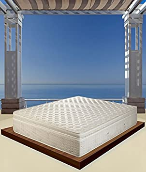 Super Deluxe Memory and Spring Independent Fireproof Class 1IM Mattress – Size: Single 80 x 190 cm