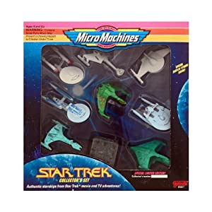 Micro Machines Star Trek Collector's Box Set