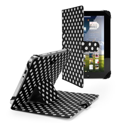 """Schwarz Universal 10.1 Zoll Kunstleder Tasche Hülle Case Cover Ständer für ARCHOS 101 Titanium, ARCHOS 101 Platinum, ARCHOS 101 Xenon, Samsung GALAXY Note 10.1 2014 P600 P601, Samsung GALAXY Note10.1 N8000, Samsung GALAXY Tab 2 10.1 P5100, Samsung GALAXY Tab 2 10.1 P5200, Acer ICONIA W510 / W511, ViewSonic ViewPad 10I, ViewPad 100Q, Kobo Arc 10HD, HP Slate10 HD, Sony Xperia Tablet Z, pipo M9 PRO 3G 10.1"""", Nokia Lumia 2520, 10"""" Dell xps 10, Toshiba Excite Pro AT10LE-A-108, Toshiba AT10PE-AT01S, T"""