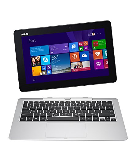 ASUS Transformer Book 12-Inch T200TA-B1-BL 2-in-1 Detachable Touchscreen Laptop, 2 GB RAM, 32 GB Storage (Free Windows 10 Upgrade)