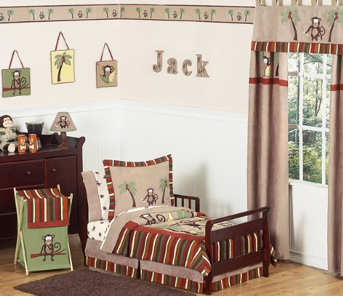 Red Toddler Bedding 7075 front