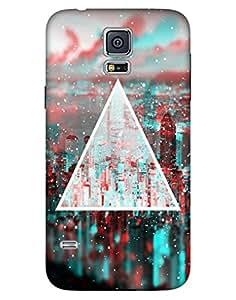 Bikzone Back Cover For Samsung Galaxy S5 (Multicolor)
