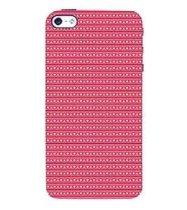 Love Symbols Pattern 3D Hard Polycarbonate Designer Back Case Cover for Apple iPhone 4
