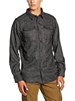 Columbia Camisa Hombre Sage Butte (Gris Oscuro)