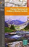 Mapa Parque Nacional De Ordesa Y Monte Perdido - 1:25000