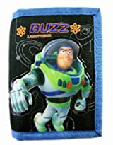 Black and Blue Disney Toy Story Buzz Lightyear Tri-Fold