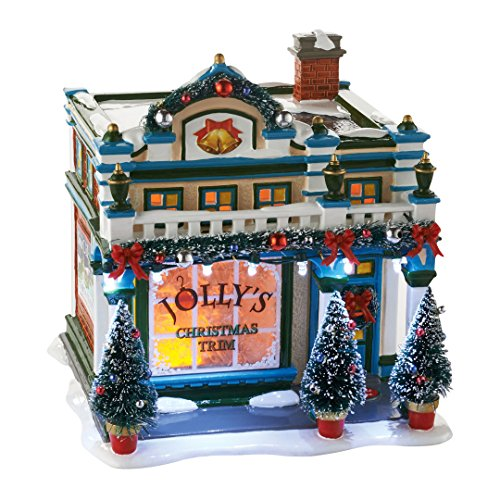 Enesco Department 56 - Snow Village, the Sounds of Christmas Ceramic House (Ceramic Village Houses compare prices)