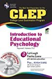 img - for CLEP Introduction to Educational Psychology w/ CD-ROM (CLEP Test Preparation) book / textbook / text book