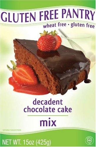 The Gluten-Free Pantry Decadent Chocolate Cake Mix, 15-Ounce Boxes (Pack of 6)