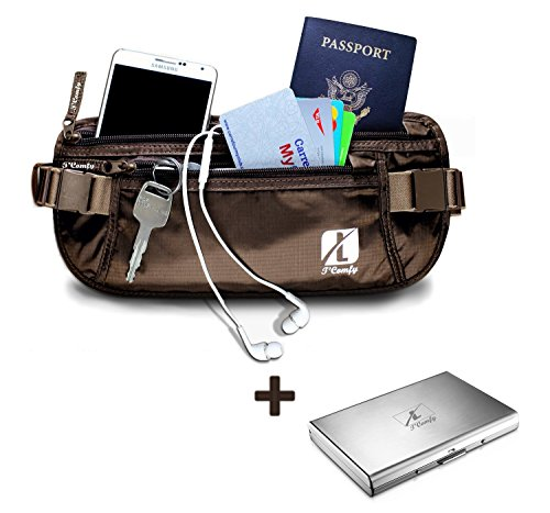 Money Belt for Amazing travel experience - Perfect travel document organizer and Passport Holder for women & men - Comfortable,