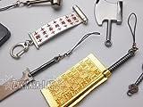 ナルト NARUTO ミニチュア 10種 武器セットB コスプレ 当店オリジナルのキーホルダー/ストラップ/イヤホンジャックのパーツ同梱版!!
