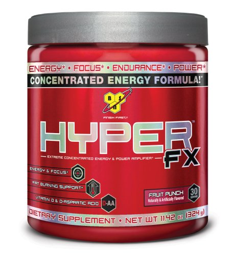 BSN Hyper Fx 30 Serve, Fruit Punch, 324 Gram