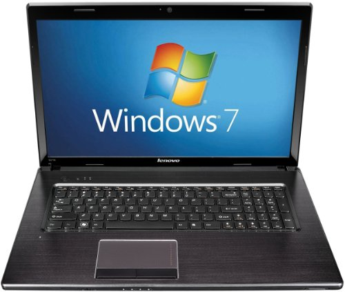 Lenovo G770 17.3 inch Laptop (Intel Core i7 2620M 2.7GHz, RAM 6GB, HDD 750GB, Blu-ray, WLAN, Webcam, Windows 7 Home Premium) - Black