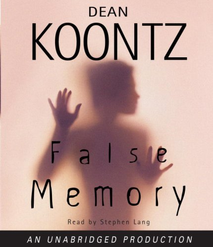 False Memory (Dean Koontz) (Dean Koontz Taking compare prices)