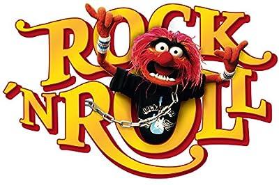 wall sticker - Muppets animal Rock`n Roll