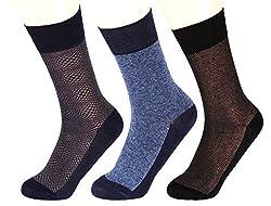 Abracadabra Men's Long Socks (Pack Of 3) (DNCS15014_Multi)